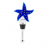 Starfish Glass Bottle Stopper