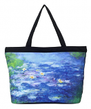 Water Lilies Large Bag