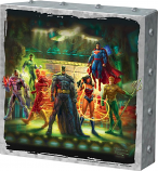 The Justice League Metal Art Box