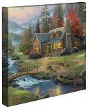 Mountain Paradise Canvas Wrap