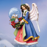 Silent Night Angel Ornament