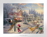 Mickey's Victorian Christmas Paper Edition