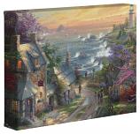 "The Village Lighthouse 8""x10"" Canvas Wrap"