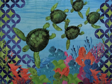Geometric Sea Turtle Art