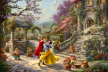 Snow White Dancing in the Sunlight Painting