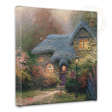 Heather's Hutch Canvas Wrap 14x14