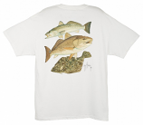 Gulf Coast Collage T Shirt