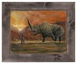 The Mudhorn Framed Metal Art