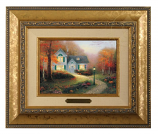 The Blessings of Autumn Brushwork (Frame Choices)