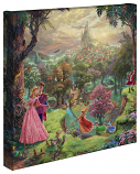 Sleeping Beauty Canvas Wrap