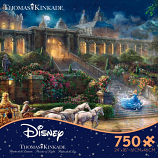 Cinderella Movie Clock Strikes Midnight Puzzle