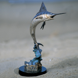 Marlin Celebration Bronze Sculpture