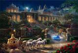 Clock Strikes Midnight Cinderella Painting