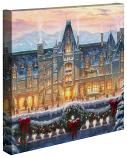 "Christmas at Biltmore 14""x14"" Canvas Wrap"