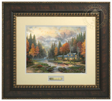 Evening at Autumn Lake Prestige Home Art (Frame Choices)
