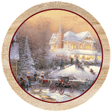 Victorian Christmas II Coaster Set