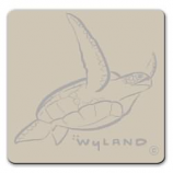 Sea Turtle Pin Silver