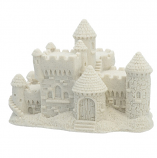 "Horizontal White Sand Castle (4.5"" Wide)"