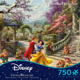 Snow White Dancing in the Sunlight Puzzle