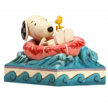 Snoopy & Woodstock Float Away