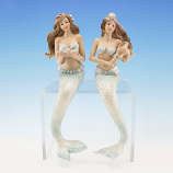 Shelf Sitting Mermaid Blue Tail