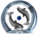 Dolphin Planet Sculpture