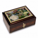 Serenity Prayer Illuminated Heirloom Music Box