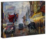 Batman, Superman and Wonder Woman Canvas Wrap