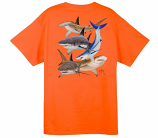 Shark Collage T Shirt