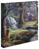 Snow White Discovers the Cottage Canvas Wrap