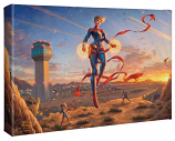 """Captain Marvel Dawn of a New Day 10""""x14"""" Gallery Wrap"""