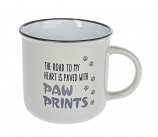 Road to my Heart is Paved with Paw Prints Mug