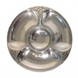 Deep Sea Chip & Dip Pewter Platter