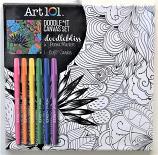 Doodlebliss Shapes Canvas Marker Kit