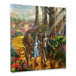 Yellow Brick Road Canvas Wrap