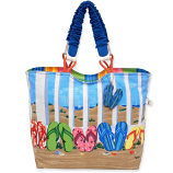 Coastal Flip Flops Shoulder Bag