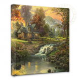 Mountain Retreat Canvas Wrap