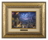Beauty & the Beast Dancing in the Moonlight Brushwork (Frame Choices)
