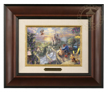 Beauty & the Beast Falling in Love Brushwork (Frame Choices)