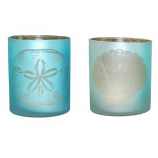 Coastal Blue Tealight Holder