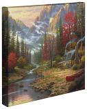 "The Good Life 14""x14"" Canvas Wrap"