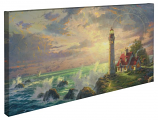 The Guiding Light Panoramic Canvas Wrap