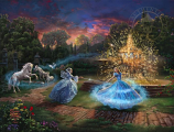 Wishes Granted Cinderella Painting