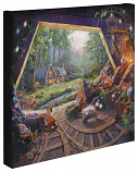 Snow White and the Seven Dwarfs Canvas Wrap