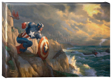 """Captain America Sentinel of Liberty 10""""x14"""" Gallery Wrap"""