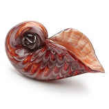 Passion Red Spiral Seashell