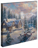 "High Country Christmas Canvas Wrap 20""x20"""