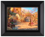 Rapunzel Dancing in the Sunlit Courtyard Classic (Frame Choices)