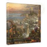 San Francisco Lombard Street Canvas Wrap 14x14