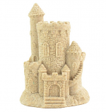 "Vertical Natural Sand Castle (4"" High)"